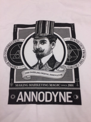 Annodyne T-shirt design